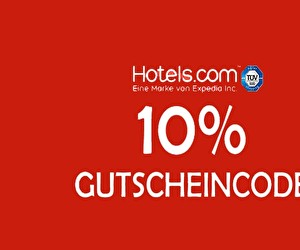 Aktion bei Hotels.com
