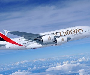 Aktion bei Emirates