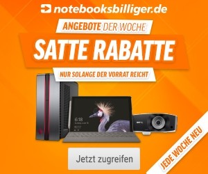 Aktion bei notebooksbilliger.de