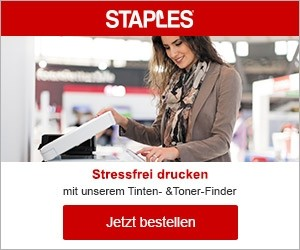 Aktion bei Staples