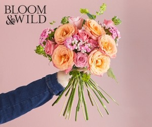 Aktion bei Bloom&Wild
