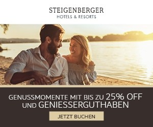 Aktion bei Steigenberger Hotels and Resorts