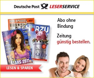 Aktion bei LESERSERVICE