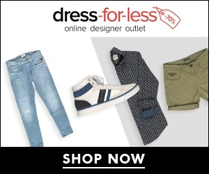 Aktion bei dress-for-less