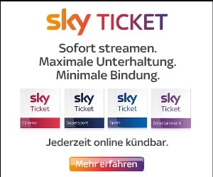 Aktion bei Sky Ticket