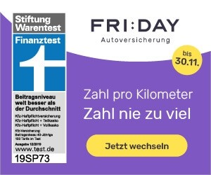 Aktion bei FRIDAY