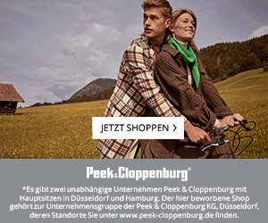Aktion bei Peek & Cloppenburg*